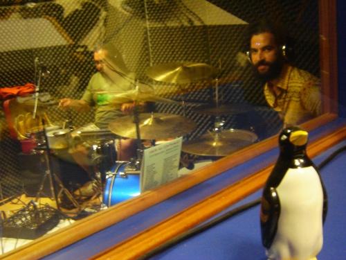 Burro Morto na rádio UFSCar e seu novo integrante